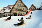 안성팜랜드 겨울축제 시작..눈썰매 무료체험