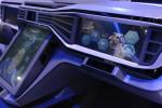 [포토] 터치하면 미래로 달려갈 것 같은 현대차의 대시보드