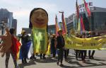 [포토] '세월호 1주년' 대한민국 엄마들의 행진