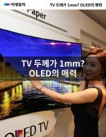 TV �β��� 1mm? OLED�� �ŷ�