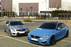 BMW M3 & 캐딜락 ATS-V 비교 시승기 - 야생마와 완벽주의자, 새로운 라이벌 구도를 완성하다...