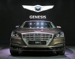 [2016부산모터쇼]제네시스, G80 출시로 글로벌 럭셔리 브랜드 도약 박차