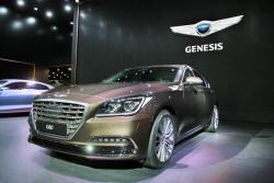 [2016부산모터쇼]제네시스, 두 번째 모델 'G80' 세계 첫 공개