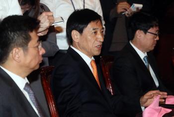 한국은행 경제동향간담회 개최, '발언하는 이주열 총재'