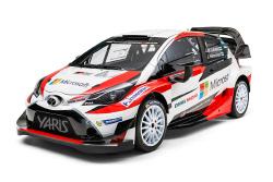토요타 가주 레이싱, WRC 출전을 위한 '2017 야리스...