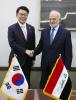 강호인 국토부 장관, 이라크 외교부장관과 건설사업 협력방안 논의