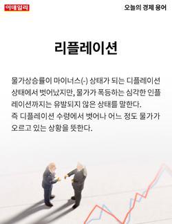 [카드뉴스] 오늘의 경제용어 - 리플레이션