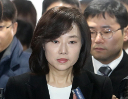 김기춘·조윤선 영장심사 출석<br>'성실히 소명'