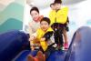[포토]제주항공, 어린이 대상'안전체험교실' 운영-4