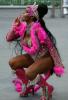 [포토] 브라질 카니발의 핑크 캣우먼