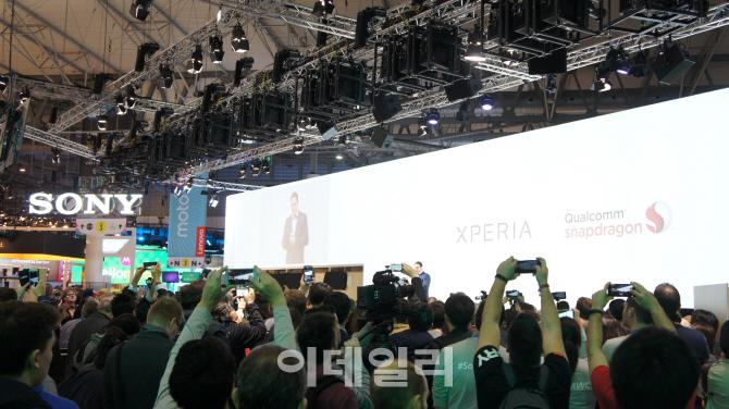 [MWC 2017]소니 '엑스페리아XZ 프리미엄' 공개..폰사업 회생시킬까