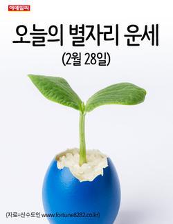 [카드뉴스] 오늘의 별자리 운세(2월 28일)