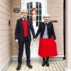 37년간 커플룩 맞춰 입은 60대 노부부, 과연 이들의 패션 감각은?
