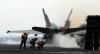 [포토]독수리훈련-키리졸브 참가한 핵 항모 칼빈슨호 이륙 준비하는  F/A-18