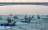 뿔난 어민들...어선 4만5000척 동원 사상 최대 해상 시위(종합)