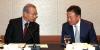 [포토]참석자와 이야기 나누는 김인호 한국무협협회 회장