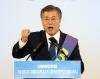 [민주 경선]'47.8%' 문재인, 충청서도 승리..9부 능선 넘었다(2보)