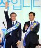[민주 경선]안희정 안방서 승리한 문재인, 9부능선 넘었다