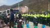 성주 주민들, '사드 차량' 진입 저지…국방부 '안보 위해 협력해 달라'