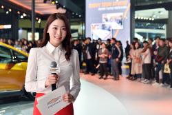 [서울모터쇼] 쉐보레 부스의 이벤트 MC 황보혜경 아나운서를 만나다