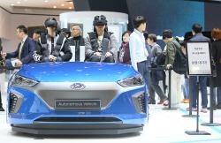 서울모터쇼 60여만명 방문…가족·단체 관람 증가