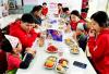 [포토] 농심켈로그 자원봉사 동아리 보육원아들과 즐거운 시간