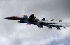 [포토] `뉴올리언스 에어쇼` 美해군 특수비행팀 곡예비행