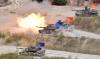 [포토] M-1 전차의 화력 시범