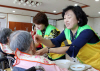 [포토] 여성한돈인 봉사단 어르신께 식사 대접