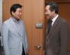 이낙연 총리후보자, 김진표 국정기획자문위원장 방문