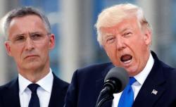 'NATO 방위비 더 내라' 날세운 트럼프…`집단안보`는 얼버무렸다