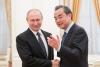 中왕이, 푸틴 만나 북핵문제 등 국제문제 협력키로