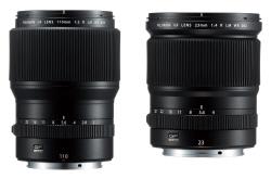 [포토] 후지필름, 신제품 렌즈 2종 GF23mmF4, GF110mmF2 출시