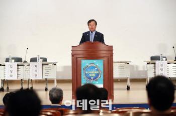 """도종환 문체부 장관 """"'국.."""