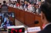 [포토]자유한국당 의원 질문 듣는 김상곤 사회부총리 후보자