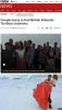 남극령에서 英 최초로 결혼식 올린 커플 `눈길`…빙판 위 행진