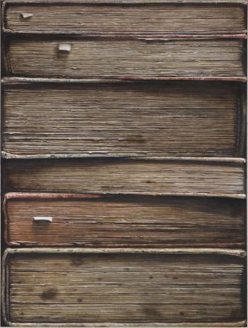 [e갤러리] 책을 '긋다' 낡은..
