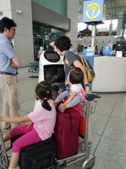 '공항 아이돌' 된 LG로봇…직접 목적지에 데려다주기도