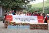 [포토]이스타항공, 청주 수해복구 물품 지원과 임직원 참여 구슬땀 함께 나눠
