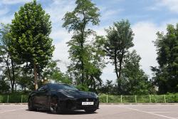 재규어 F-타입 쿠페 SVR 시승기 - V8 슈퍼차저 엔진...