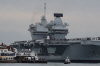 [포토]'퀸 엘리자베스', 英서 가장 큰 전투용 항공모함