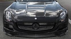 [포토] 카본 파이버 디자인 파츠를 적용한 인덴 디자인의 SLS AMG 튜닝카...