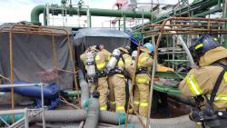 STX조선, 선박 건조중 폭발사고로 4명 사망…협력업체 직원 4명 사망