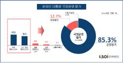 살충제 계란+김정은·트럼프도 못꺾은 文 지지율..`85.3%`