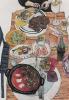 색색의 상차림 맛있는 그림…오수지 '휴일'