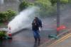 [포토]제13호 태풍 '하토' 강타에 홍콩 시민들 '난감'