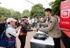 [포토] 샤이니 민호, 도봉산에서 자연보호 캠페인