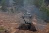 [포토] 아무리 흙길이어도..`자파드 2017` 탱크 전진