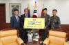 부영그룹, 한가위 맞아 국군 제25보병사단에 과자 500세트 기증