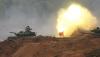 [포토] 불 뿜는 러시아 탱크..`자파드 2017`